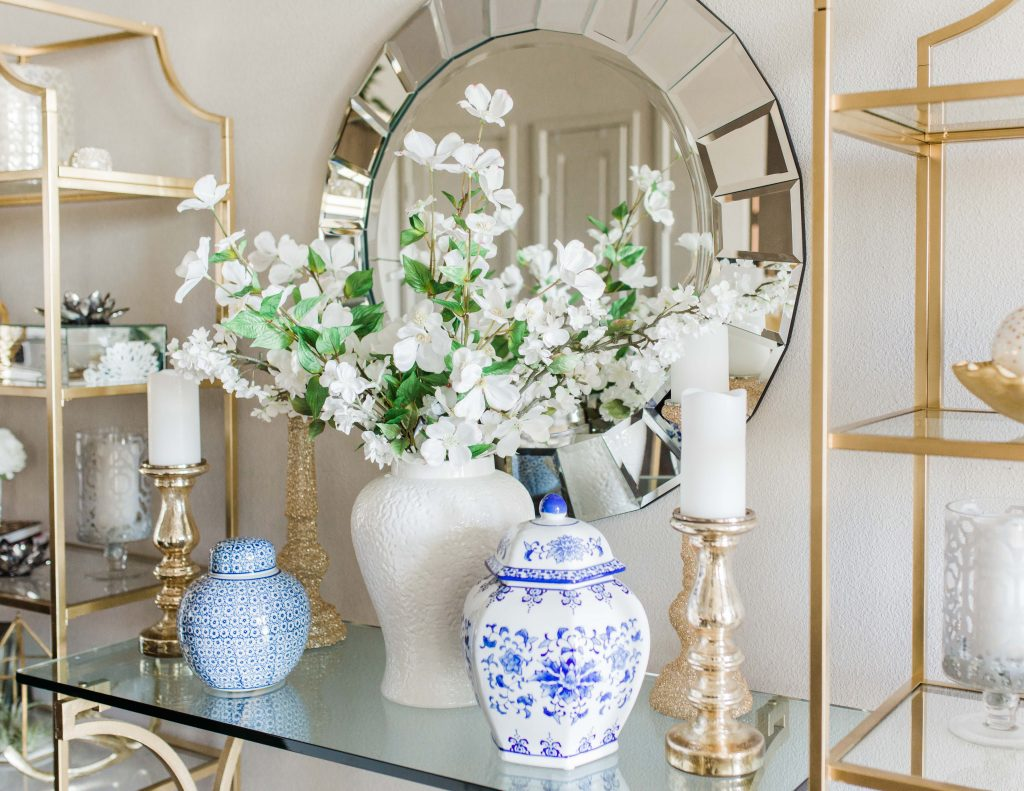 Summer Florals And Ginger Jars